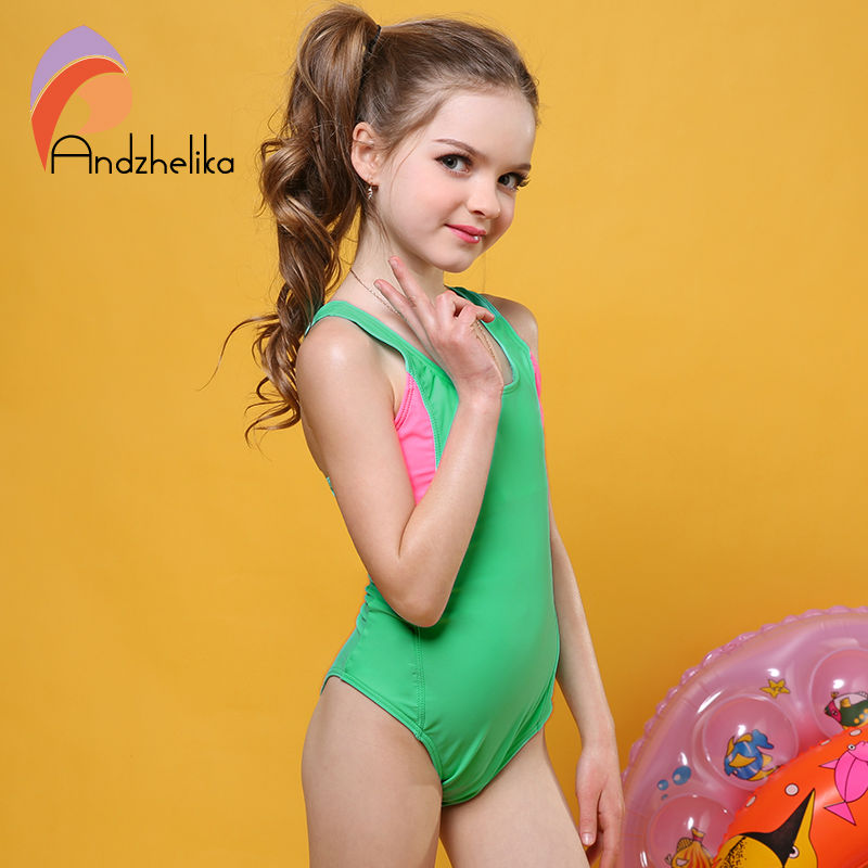 Andzhelika One Piece Swimsuit 2017 Swimsuit For Girl