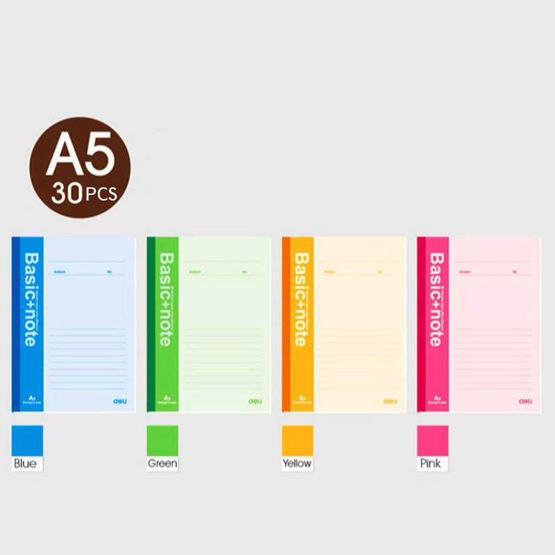 Students Diary Soft Surface Note Book Business Notepad Exercise Basic+Note Book Mixed Color A5 Notebook upstream proficiency c2 students book