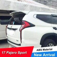 цена на JNCFORURC Rear Roof Cars Spoilers Wings For Mitsubishi Pajero Sport 2016 17 18 Unpainted Rear Tailgate Spoiler Wing For Pajero