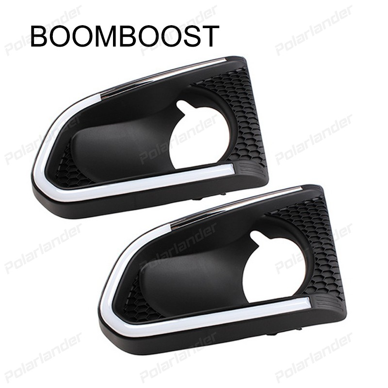 BOOMBOOST 2 pcs auto accessory Car styling For  Chevrolet/Trax 2014-2015 Daytime running lights