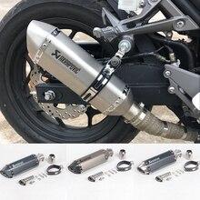 Бесплатная доставка akrapovic глушитель для мотоцикла escape moto с db убийца выхлопной системы для honda Бенелли msx125 nmax EP01