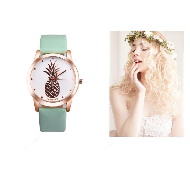 font b Watch b font font b Women b font Clock PAPHITAK Pineapple font b
