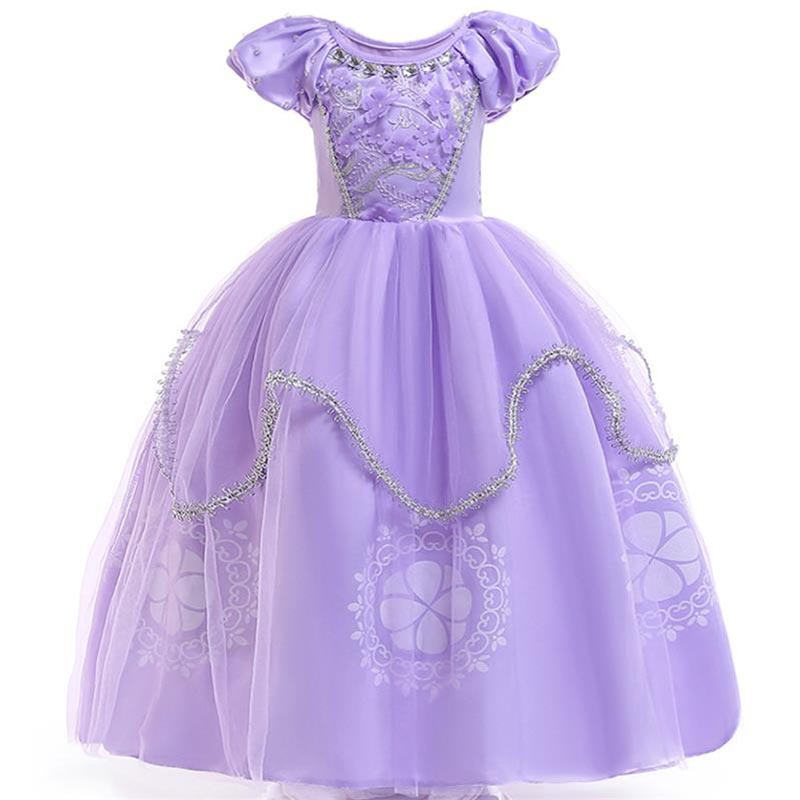 2019 Easter Summer Princess Girl Dress First Communion Dresses For Girls Flower Clothes Children Clothing Baby Costume BX1627