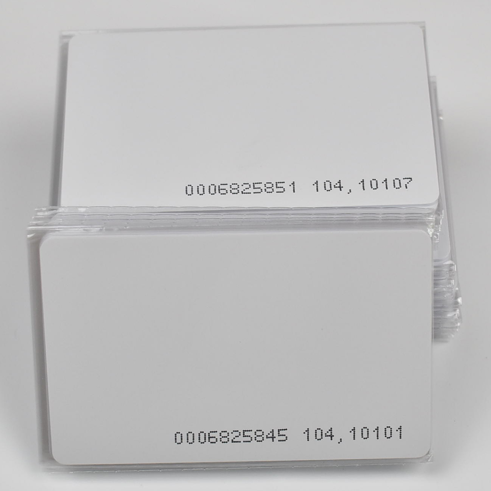 100pcs RFID Cards 125KHz EM4100 TK4100 Smart Card Proximity RFID Tag For Access Control