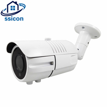 SSICON 2MP 4MP Bullet AHD 4X Manual Zoom 2.8-12mm Varifocal Lens Camera IR Night Vision Waterproof Outdoor Analog Camera цена