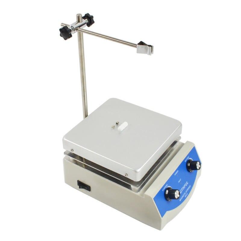 SH-3 Hotplate Stirrer Top Plate Magnetic Stirrer with Heating 17x17cm For LiquidSH-3 Hotplate Stirrer Top Plate Magnetic Stirrer with Heating 17x17cm For Liquid