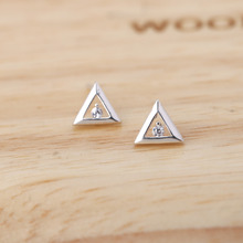 Shuangshuo 2017 New Arrival Fashion Geometric Jewelry Hot Sale Summer Triangle Stud Errings for Women