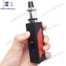 HOT100W vape bulit-in 2200mah battery vaporizer LED Screen Smoke Vaper Huge Vaportank vapor electronic cigarette vape pen kit electronic cigarette jsld 150w adjustable vape mod box kit 2200mah 0 3ohm battery 3ml tank e cigarette big smoke vs jsld txw kit