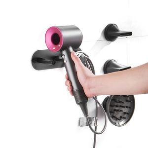 Image 5 - ウォールマウントホルダードライヤー storgae ラック浴室の棚ダイソン超音速ヘアドライヤー l29k