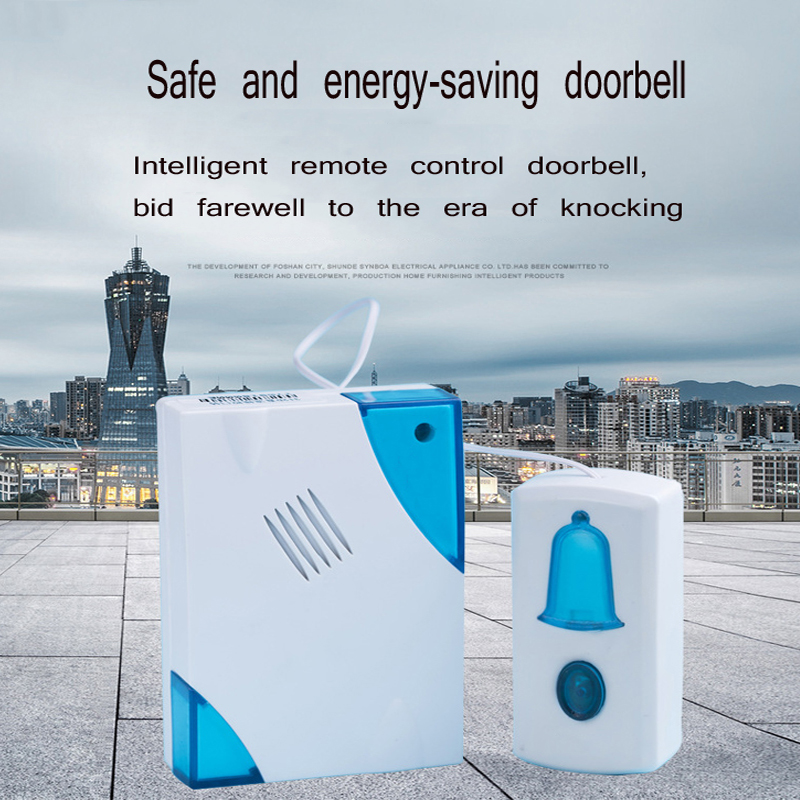 DC remote control doorbell home access