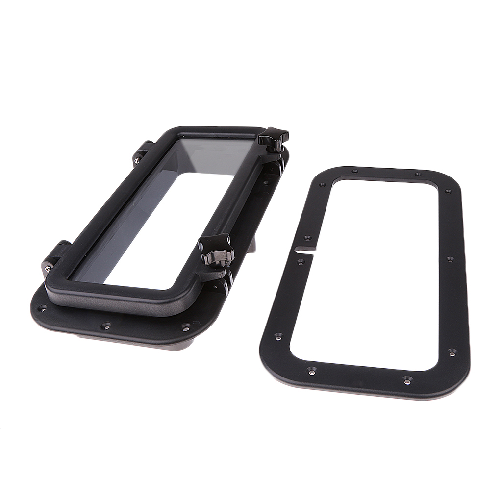 Image 4 - 15.75*7.87″ Marine Window Rectangle Shape Opening Portlight Hatch ABS 4mm Tempered Glass For RV Boat Yacht Etc Boat Accessories-in Marine Hardware from Automobiles & Motorcycles