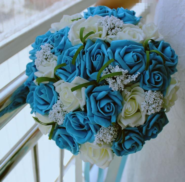 Korean Wedding Flowers: Cheap Korean Bride Holding Flowers Artificial Flowers
