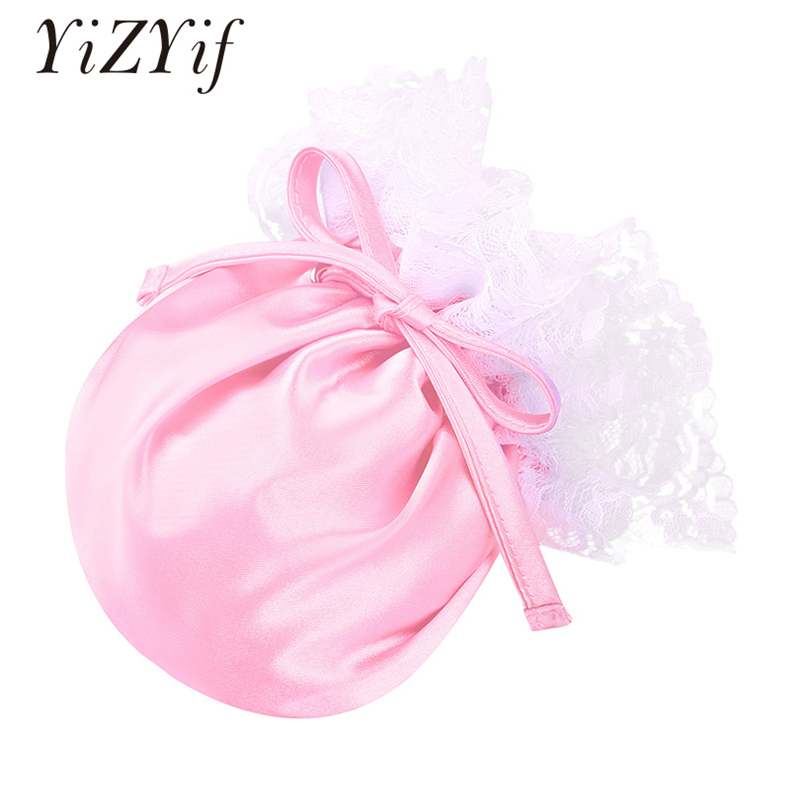 YiZYiF Adult Mens Underwear Sissy C-String Lingerie Floral Lace Elastic Drawstring Satin Male Bulge Pouch Mini Briefs Underwear