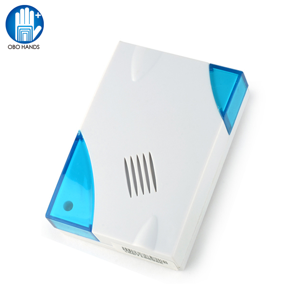 Wired DingDong Door Bell With 2 Wires/cables DC12V Doorbell With Battery ABS Fireproof For Door Access Control System