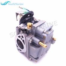Карбюратор для лодочного двигателя в сборе 6AH 14301 00 6AH 14301 01 для Yamaha, 4 тактный подвесной двигатель F20