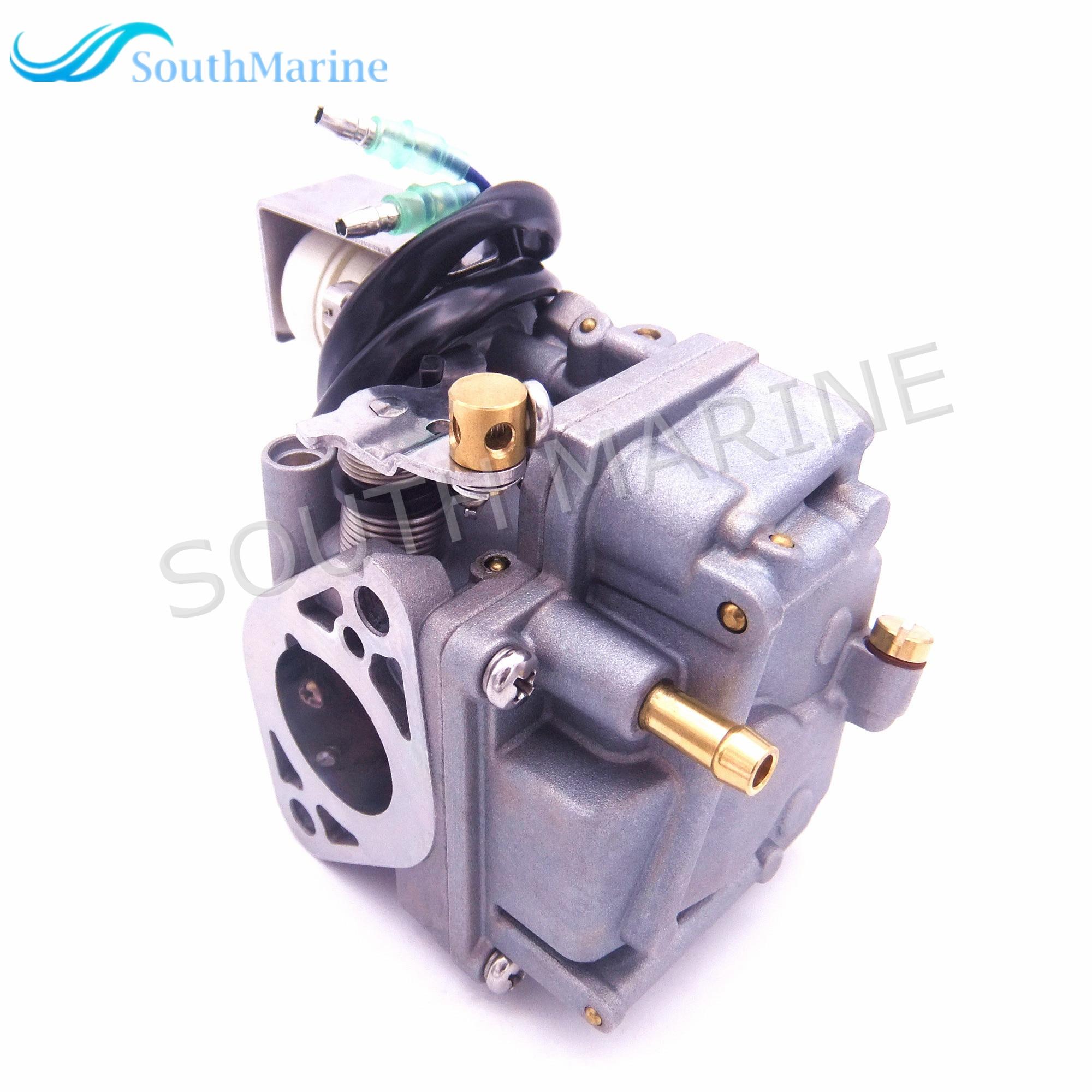 6BL-14301-00 10 Carburetor Assembly for Yamaha 4-stroke F25 Outboard Engine