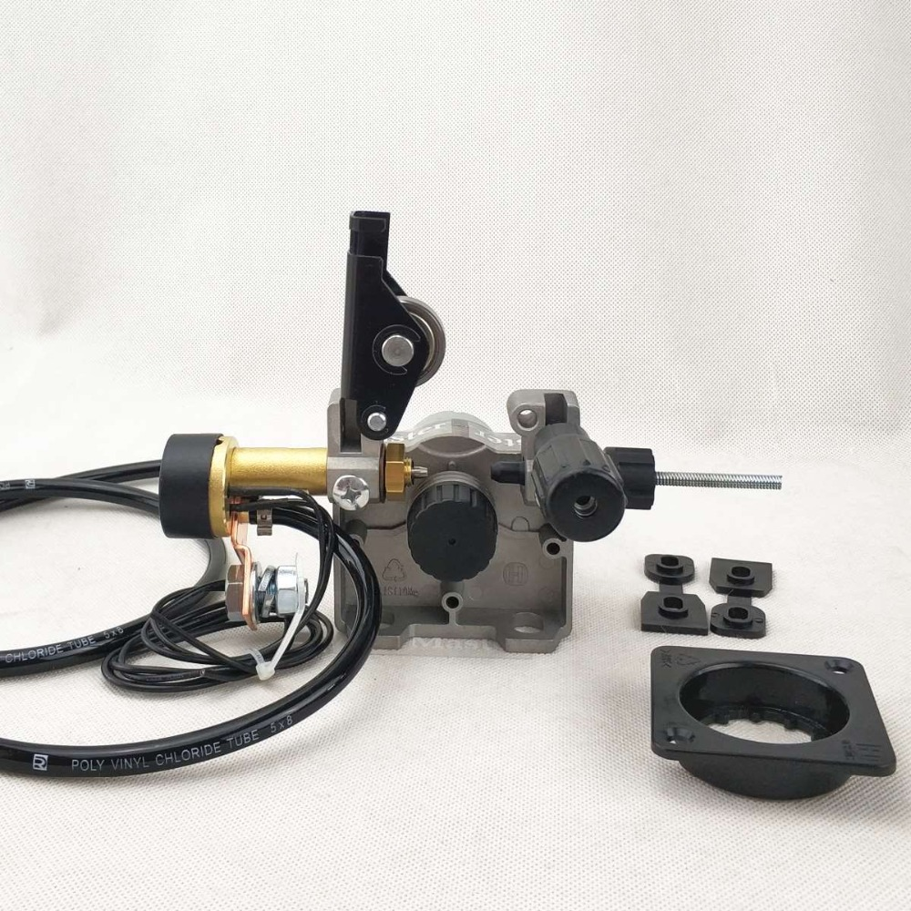 24V 0.8-1.0mm Wire Feed Assembly Wire Feeder Motor MIG MAG Welding Machine Welder Euro Connector MIG-160