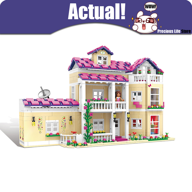 XINGBAO 12006 The Happy Dormitory Friends House Castle Building Blocks Bricks Toys For Girls oyuncak Compatible with INGly stzhou 10164 659pcs compatiable with legoe friends olivia s house building bricks blocks toys for children girl game castle gift