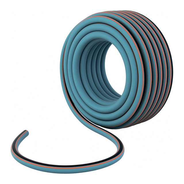 Шланг армированный PALISAD 67602 (ПВХ, диаметр 1/2 дюйма, 12.7 мм, длина 50 м, давление 30 бар, вес 7.2 кг)