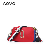 Super Star SAME Bag Beautiful Genuine Leather Shoulder Bags Brand Camera Bag Small Casual Wide Strap