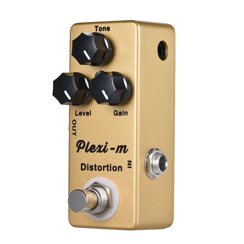 buy mosky plexi m electric guitar pedal distortion guitar effect pedal full. Black Bedroom Furniture Sets. Home Design Ideas