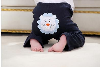 Calças calças do bebê da menina do menino do bebê e confortável 2016 algodão de alta qualidade 3 pçs/lote frete grátis