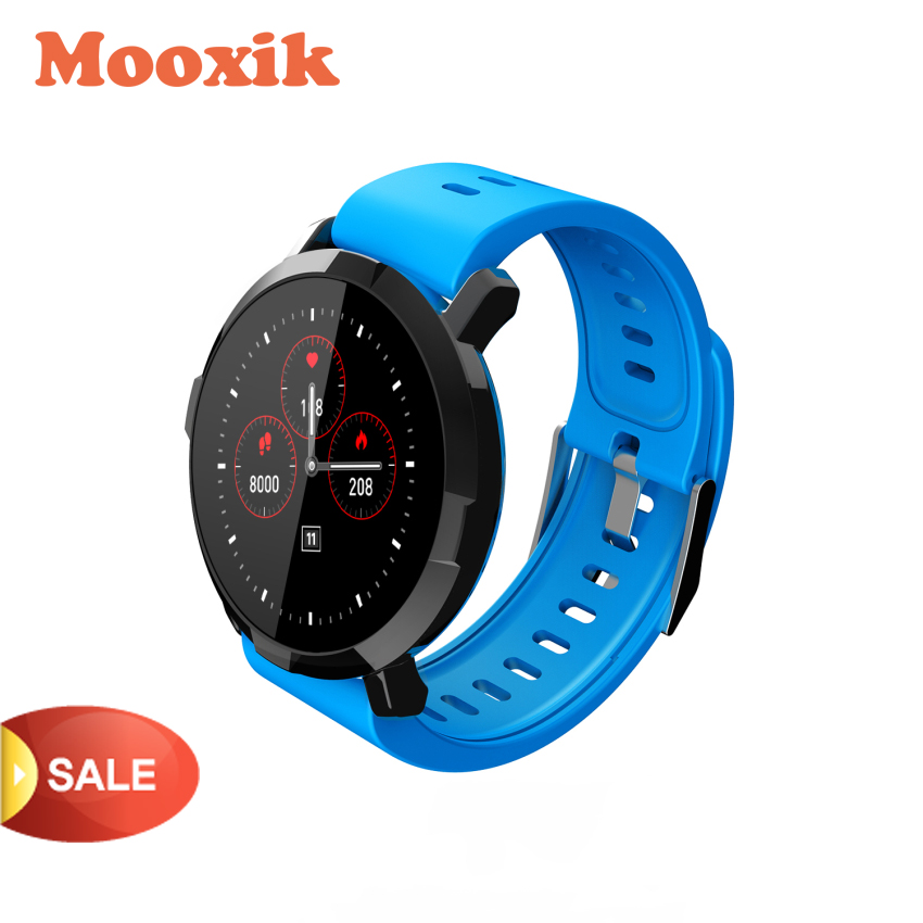 MOOXIK Upgrade Smart Watch HR Blood Pressure Monitor M29 Smart Bracelet for Women Men using-in Smart Watches from Consumer Electronics