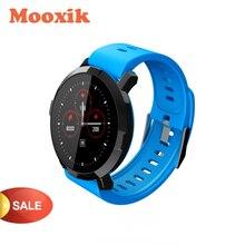 MOOXIK Upgrade inteligentny zegarek HR monitor ciśnienia krwi M29 inteligentna bransoletka dla kobiet mężczyzn za pomocą