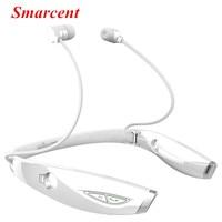 Smarcent Stereo Sport Bluetooth Headset Auriculares Wireless Headphone Handfree Luminous For IPhone 7 Xiaomi Bluetooth Earphone