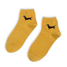 5 Pairs Dachshund Footy Socks