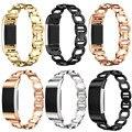Лучшая Цена Моды Подлинной Нержавеющей Стали Браслет Smart Watch Ремешок Ремешок Для Fitbit Заряд 2 высокое качество Smart Watch DEC22
