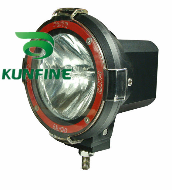 ФОТО 9-30V/55W 4 INCH HID Driving Light HID Offroad Spot/Flood Beam Light for SUV Jeep Truck ATV HID XENON Fog Lights