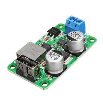 5 V 5A DC USB Buck módulo de alimentación USB placa de carga de alta corriente soporte de carga rápida