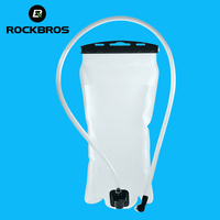 ROCKBROS 2L Bike Bicycle Water Bladder Bag Portable Eco Friendly Bicycle Water Bottle For Outdoor Sports
