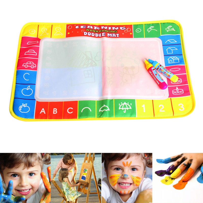 Magic Painting Resauble Coloring Cloth Doodle Book for Kids No Mess Just Water!