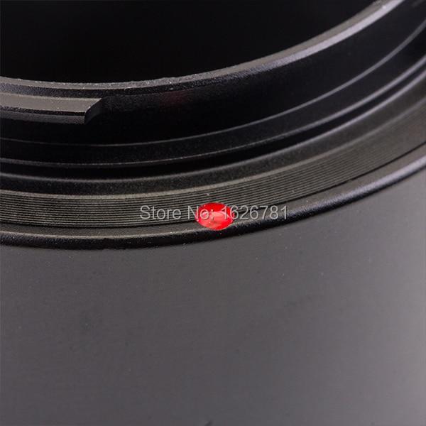 Prilagodljiva obleka za objektiv Venes za Hasselblad-NEX do Sony E - Kamera in foto - Fotografija 6