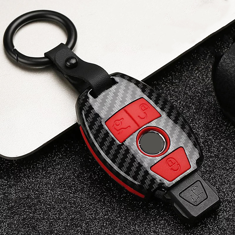 Saco chave do carro capa para mercedes benz C E G S Classe E300 c260 glc260 w204 w212 W251 W463 W176 ABS chaveiro remoto Caso Chave para carro