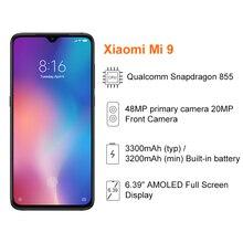 Xiaomi Mi 9 Mi9 6GB 64GB/8GB 256GB Mobile Phone