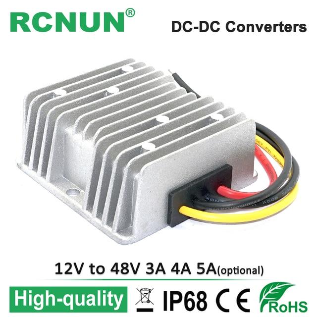 12v To 48v 3a 4a 5a Step Up Dc Converter 12 Volt 48