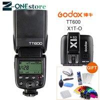 Godox TT600 2.4G Wireless Camera Flash Speedlite + X1T O TTL 1/8000s 2.4G Wireless Trigger Transmitter for Olympus Panasonic