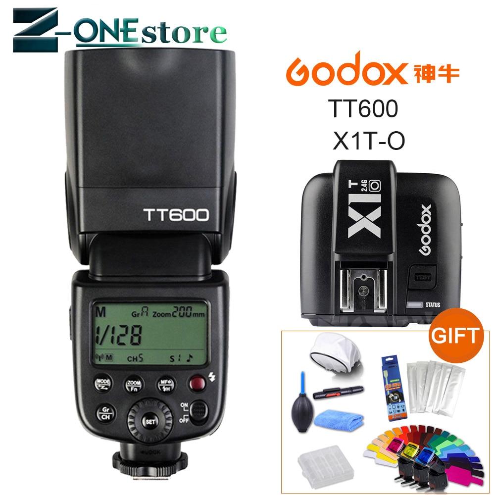 Godox TT600 2.4G Wireless Camera Flash Speedlite + X1T-O TTL 1/8000s 2.4G Wireless Trigger Transmitter for Olympus PanasonicGodox TT600 2.4G Wireless Camera Flash Speedlite + X1T-O TTL 1/8000s 2.4G Wireless Trigger Transmitter for Olympus Panasonic