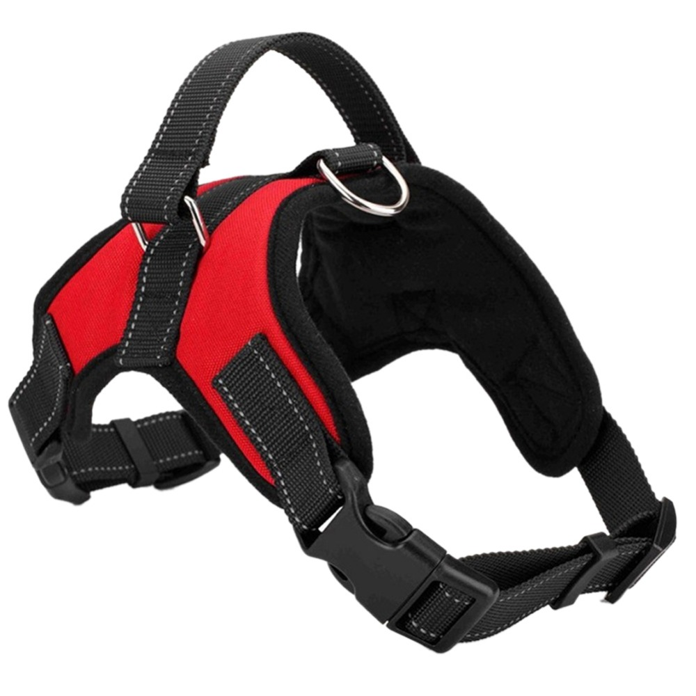 Justerbar Pet Puppy Large Dog Harness til små mellemstore store hunde Dyr Pet Walking Håndrem Dog Supplies Dropshipping