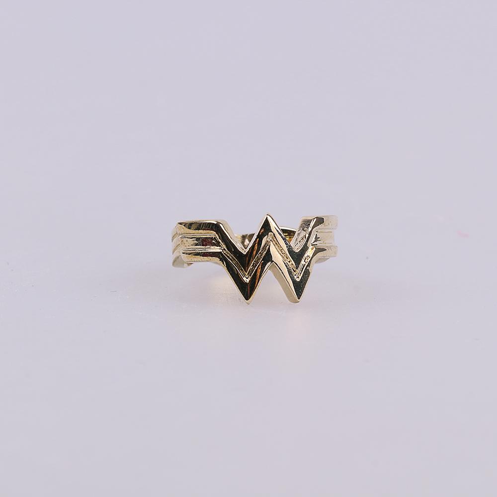 2017 Movie Wonder Woman Superhero Diana Prince Leather Headgear Metal Badge Rings  Cosplay Bronze Crown Band Headgear Woman (4)