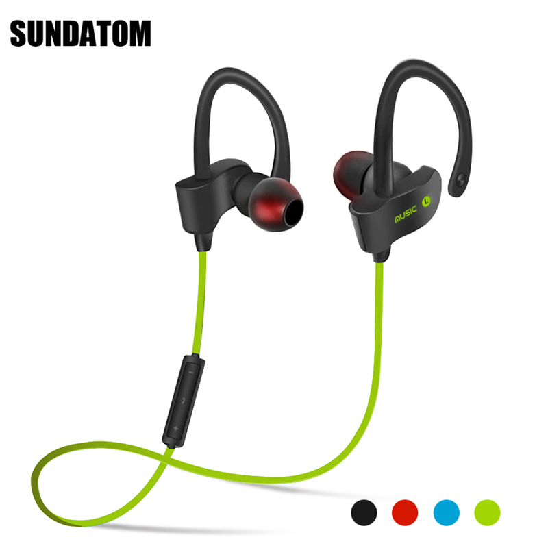 <font><b>Bluetooth</b></font> 4.1 Wireless Headphones Ear Hook Fashion Sport Earphones Hifi Stereo Mp3 Music Player Earbuds Headset with Microphone