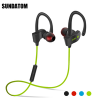Bluetooth 4 1 Wireless Headphones Ear Hook Fashion Sport Earphones Hifi Stereo Mp3 Music Player Earbuds