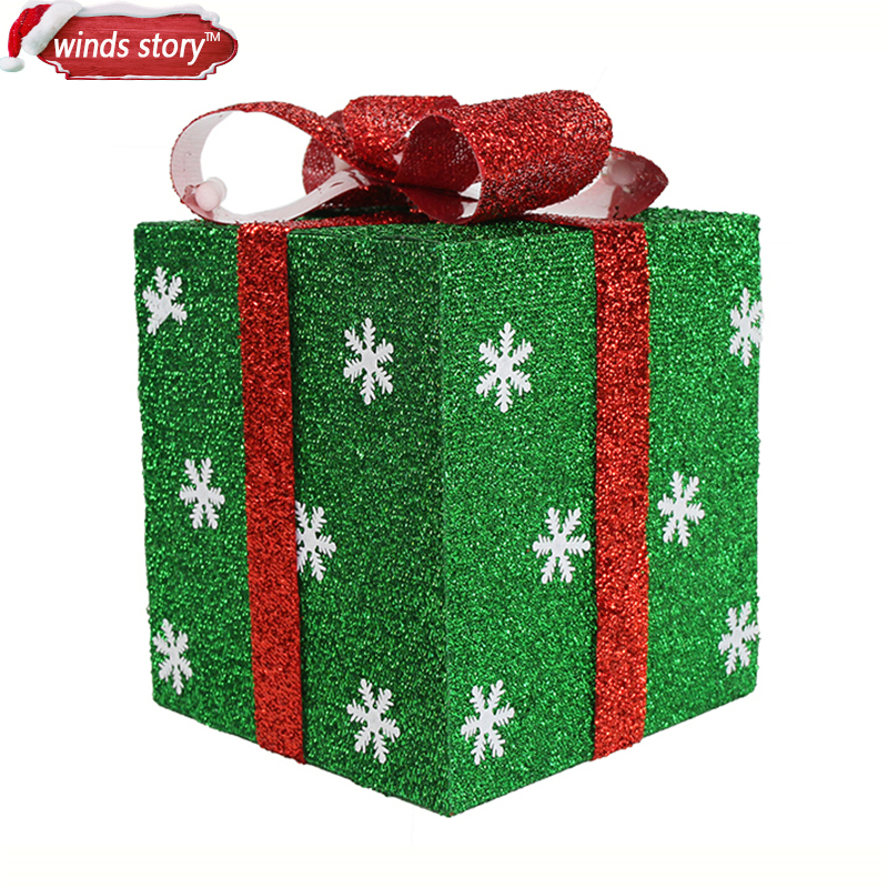 easy gift wrap idea Source · New 15 20 25 30cm Detachable Xmas Gift Boxes Christmas  present - 25 Festive Christmas Gift Wrap Ideas œ� The Christmass Gift Inspirations