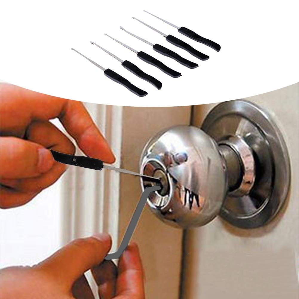 Professional 10 Pcs/Set Lock Pick Set Broken Key Remove Auto Locksmith Tools Key Extractor Lock Picks broken key extractors remove machine 16 piece pack