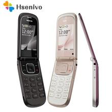 Refurbished 3710f Nokia original Flip Handy Nokia 3710 handy entsperrt 3G 3.2MP Kamera bluetooth freeshipping