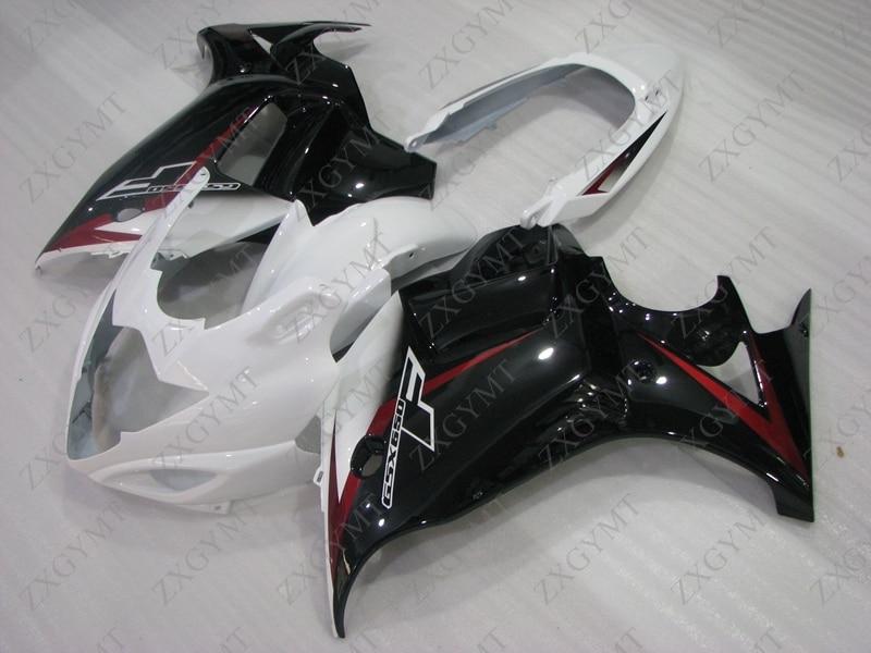 Мотоцикл обтекатель GSX650F 2008 2013 Katana черный красно белый обтекатель GSX650 2012 обтекателя Наборы GSX650 2012
