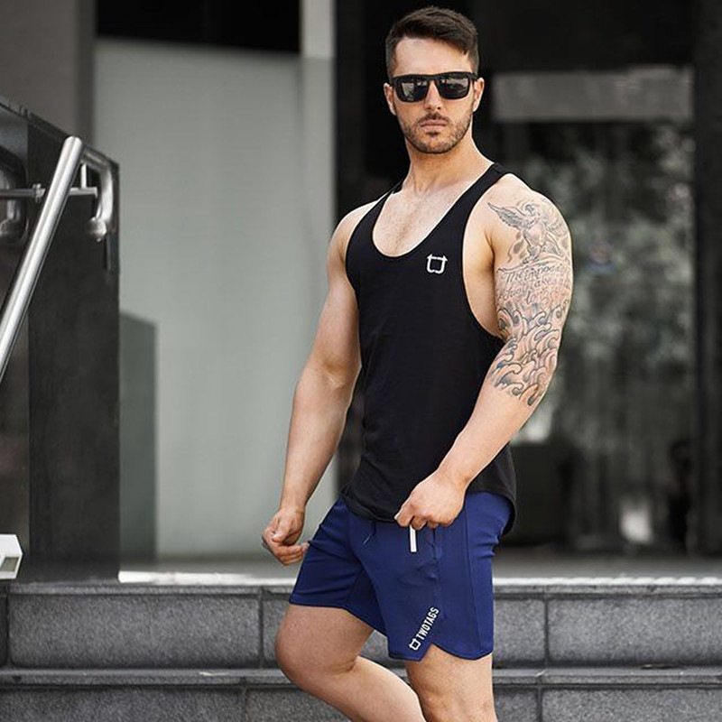 Men Shorts Fitness Casual Gym Shorts (12)